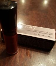 Mary Kay Nourishine Lip Gloss Red Passion Discontinued