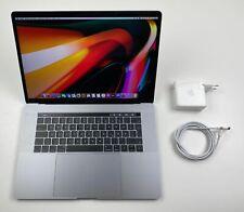 """Apple MacBook Pro Retina 15,4"""" TOUCHBAR i7 2,8 Ghz 256 GB SSD 16 GB SILBER 2017"""