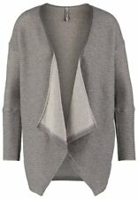 Pepe Jeans Jude Long Sleeves Cardigan Size 10 BNWT RRP £75 Grey Marl Gold Thread