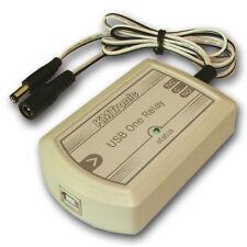 KMTronic USB One Relay Controller, RS232 Serieel gestuurd, BOX, DC kabel