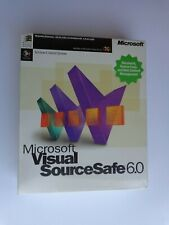 Microsoft Visual SourceSafe 6.0 (New Factory Sealed Retail Box)
