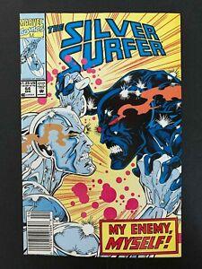 SILVER SURFER #64 (2ND SERIES) MARVEL COMICS 1992 VF NEWSSTAND
