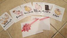 Sephora Perfume Cards Postcard Post Marc Jacobs Stella McCartney Elizabeth James