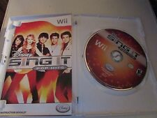 Disney Sing It: Pop Hits (Nintendo Wii, 2009) WITH MANUAL