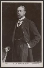 British Royalty. H.R.H. The Prince of Wales. Vintage Beagles R.Photo Postcard