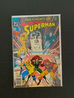 THE LEGACY OF SUPERMAN #1 DC COMICS NM/MT 1993