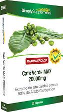 Café Verde MAX 20000mg 60 Cápsulas