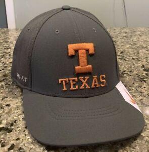 Texas Longhorns Hat Cap Stretch Fit L/XL Nike Legacy Dri-Fit NWT