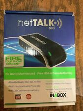netTALK DUO voIP system open box