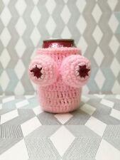 Nana's Boobies Knitted Beer Can Bottle Cooler Holder Adult Gag - souvenir