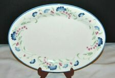 """Beautiful Vintage Royal Doulton, Expressions """"Windermere"""" Oval Serving Platter"""