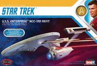 Polar Lights Star Trek Khan's Counterattack U.S.S.Enterprise NCC-1701 Refurbishe