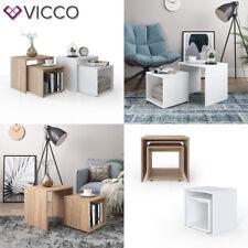 VICCO Couchtisch Beistelltisch Set - Wohnzimmer Sofatisch Kaffeetisch Tisch