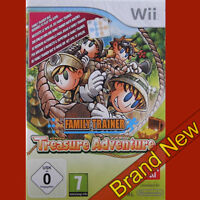FAMILY TRAINER TREASURE ADVENTURE - Nintendo Wii ~PAL ~ No Mat ~ BRAND NEW