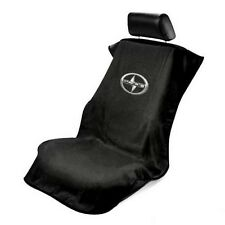 ONE BRAND NEW Universal Black Scion Seat Towel Seat Armour Cover tC FR-S  iM iQ