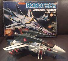 Vintage 1985 Robotech Veritech Fighter Matchbox Super VF-1S Valkyrie Macross Jet