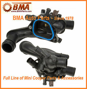 NEW MINI COOOPER COUNTRYMAN ENGINE COOLANT THERMOSTAT W/GASKET 11537534521