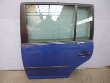 VW Touran 1T Tür hinten links LL5M Blau Indienblau
