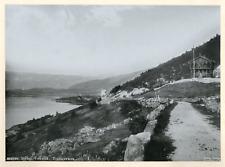 Norvège, Skoien, Hôtel Vokslid, Telemarken Vintage print Photomécanique  20x