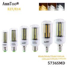 E27 E14 Cool White Warm LED Corn Bulb 5736 SMD 40W -100W Light 220V Lamp