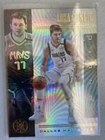 Luka Doncic 2019-20 Panini Illusions Base #134 Dallas Mavericks