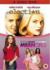 Mean Girls / Election     -  DVD -   Brand New    Lindsay Lohan