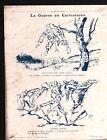WWI Caricature Guerre Pickelhaube / Map Carte Austria-Hungary 1915 ILLUSTRATION