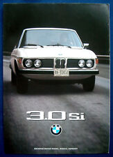Prospectus brochure BMW 3.0 SI (USA, 1975)