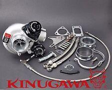 "Kinugawa Billet Turbocharger 2.4"" TD06SL2-20G & Blow Off Valve & 8cm T3 Housing"