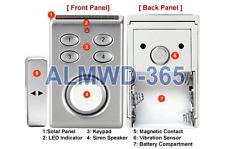 New Vibration Alarm + Door/Window Alarm With Solar Panel