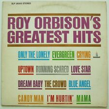 ROY ORBISON - GREATEST HITS - VG++ LP - Monument - SLP 18000 Only The Lonely