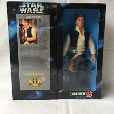 Star Wars. Collector Series. Figur: Han Solo. Kenner Hasbro. Neuwertig in OVP!