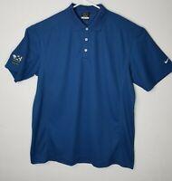 Nike  Mens Dri Fit Golf  Polo Shirt Destin Blue Size XL