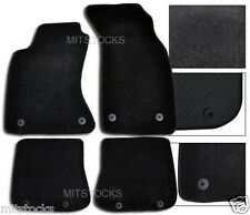 FIT FOR 1996-2001 AUDI A4 ONLY BLACK NYLON CARPET FLOOR MATS