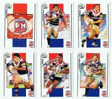 11X 2005 NRL POWER CARDS: SYDNEY ROOSTERS