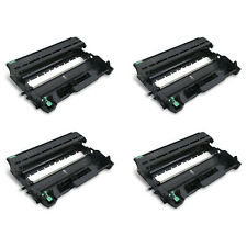 4 Pack Black DR-720 Drum Unit Compatible For Brother DR720 MFC-8510DN MFC-8710DW