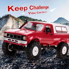 WPL C24 1/16 RC Car Crawler Off-Road W/Headlight 4WD Truck Gift For Kid RTR J2Q1