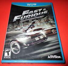 Fast & Furious: Showdown Nintendo Wii U *Factory Sealed! *Free Shipping!