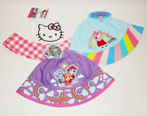 Baby Sun Hat Hello Kitty Peppa Pig Paw Patrol Bucket Hat NEW