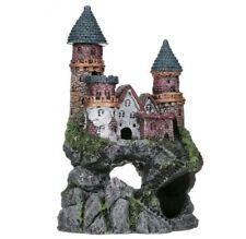 Penn-Plax Deco-Replicas Enchanted Castle Aquarium Ornament, Large