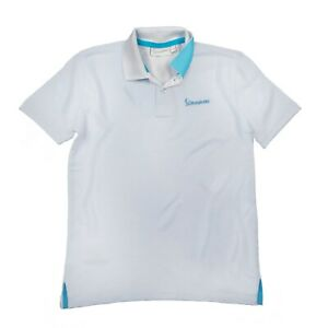 Vespa Logo Official Genuine Kids White Polo T-Shirt New