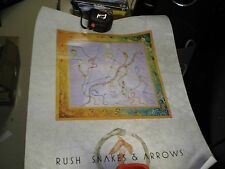 "Rush Snakes And Arrows Poster 24"" x 18"" Vg"