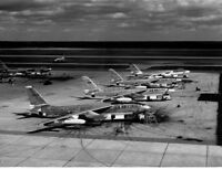US AIR FORCE USAF B-47E aircraft 8X12 PHOTOGRAPH 1950
