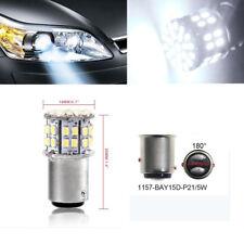 12V LED Light White 1157 BAY15D 50SMD 1206 6000K Car Tail Stop Brake Lamp Bulb-