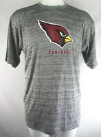 Arizona Cardinals NFL Men's Gray Team Apparel Big & Tall Short Sleeve T-Shirt