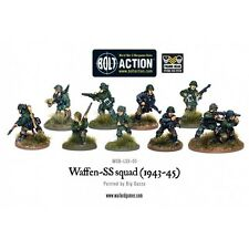 Warlord Games - Bolt Action - Waffen-SS Squad (1943-45) - 28mm