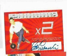Eddie Lubanski PBA TK Legacy PBA autograph card
