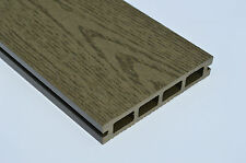 SAMPLE - Wood Plastic Composite Decking 140mm x 25mm NEW Woodgrain Green finish