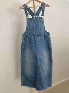 Madewell Denim Overall Dress US12