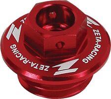 ZETA - ZE89-2310 - Oil Filler Plug, Red Kawasaki KX250F 04-017, KX450F 06-17